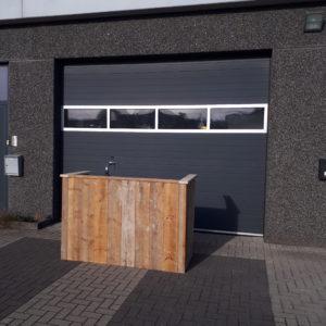 Mobiele Bar Ombouw 'Steigerhout'