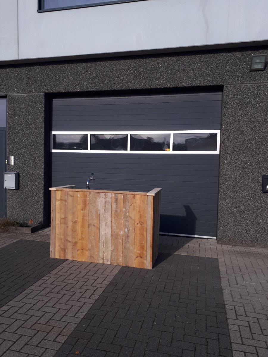 Ongebruikt Mobiele bar ombouw 'Steigerhout' – Partyverhuur Jeroen WZ-09