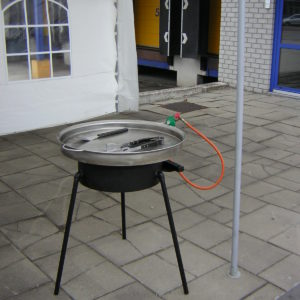 Barbecue Rond 70 Cm. Diameter
